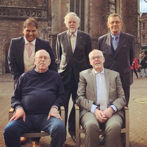 Bestuur Godfried Bomans Genootschap 2018